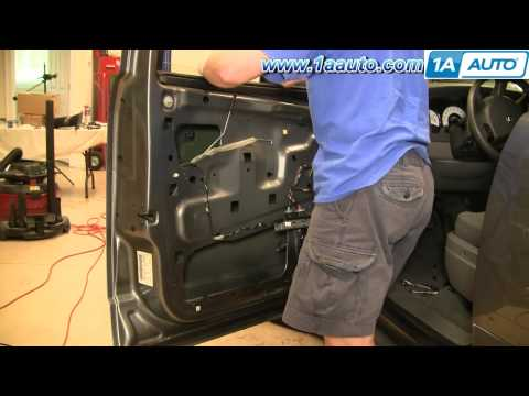 How To Install Replace Front Power Window Regulator Dodge Durango 04-09 1AAuto.com