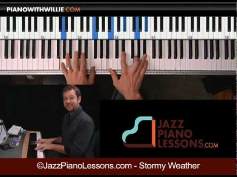 Stormy Weather song tips - Learn jazz piano