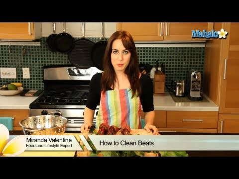 How to Clean Beets