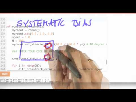 Systematic Bias - CS373 Unit 5 - Udacity