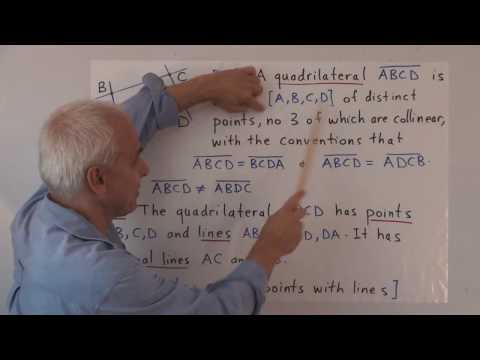 MF45: Quadrilaterals, quadrangles and n-gons