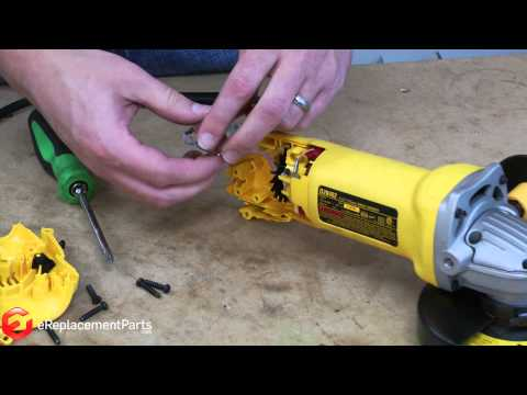 How to Replace the Switch in a DeWalt D28402 Grinder--A Quick Fix