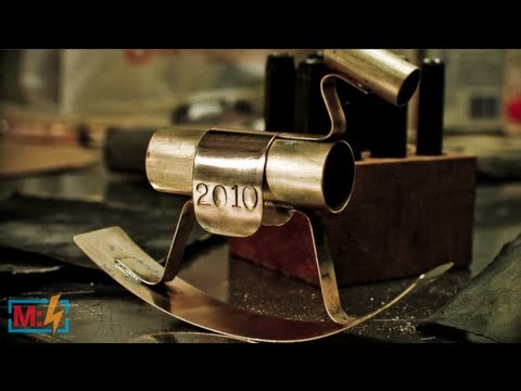 Brass Rocking Horse on Make: Live ep22