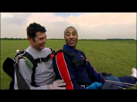 Colin Jackson's skydive - The Making of Me - BBC