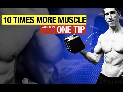 MUSCLE GROWTH MULTIPLIER!!  Do This EVERY REP for Max Muscle Growth