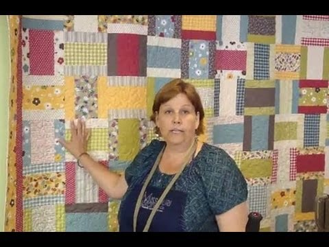 Layer Cake + Jelly Roll = Quilt!