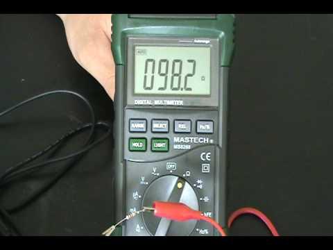 Robotics and Electronics Tutorial - 7 - Testing Resistors