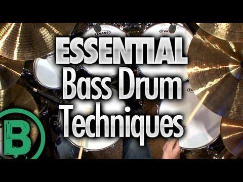 Essential Bass Drum Techniques - Beginner Drum Lessons
