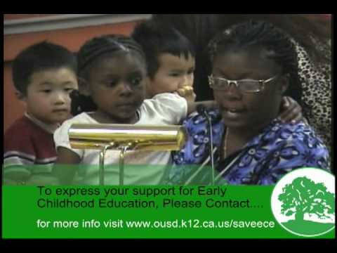 Save Early Childhood Education in OUSD and California