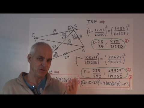 WT68: Euler's Four Point Relation