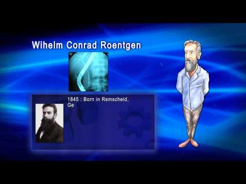Top 100 Greatest Scientist in History For Kids(Preschool) - WILHELM CONRAD ROENTGEN