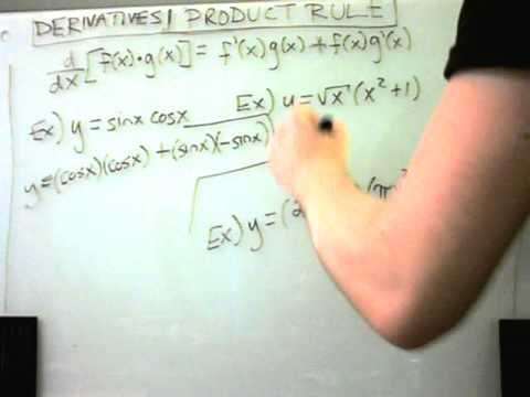 Derivatives using the Product Rule