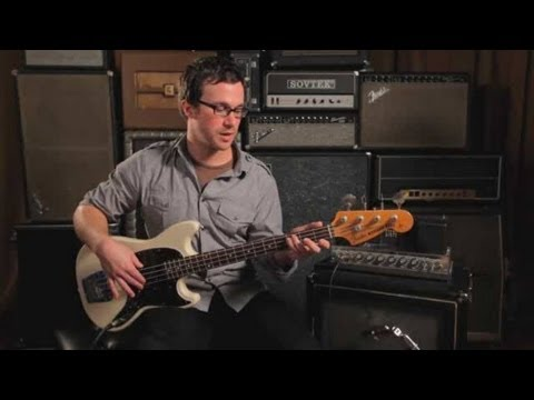 Bass Guitar Lesson: String Crossing Technique