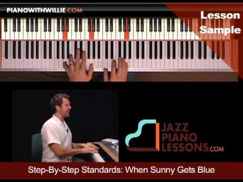 PianoWithWillie.com-ex2-When Sunny Gets Blue (SUNNY)