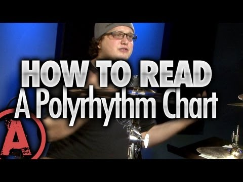 How To Read A Polyrhythm Chart - Advanced Drum Lessons