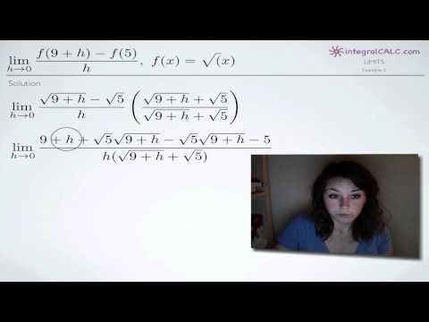 Limits - Conjugate Method Example 2