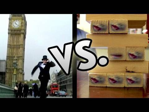 Jenga and Monopoly as movies?? Pick your fav on Film Fights TV