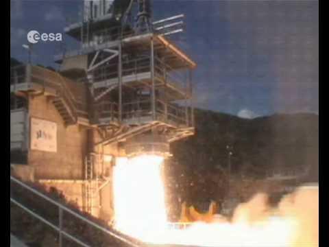 Vega test firing