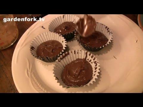 Halloween Treats Recipe Chocolate Peanut Butter Cups Recipe : GardenFork.TV