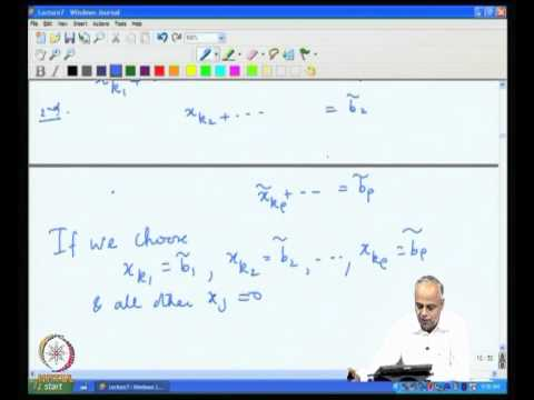 Mod-02 Lec-07 Linear Systems Part 4