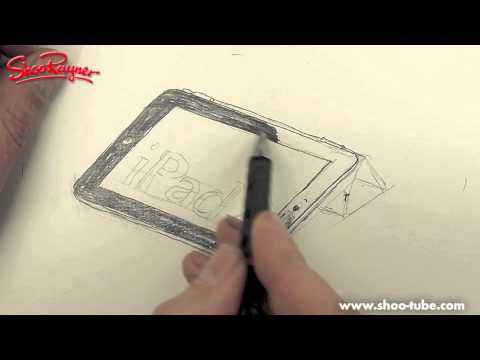 How to draw an iPad 2