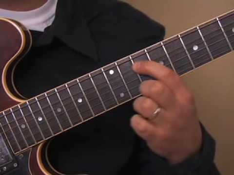 Blues Funk and Jazz Chord Lesson - The 9 Chord - Blues Guitar Lesson