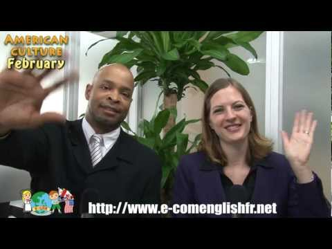 E-com English Monthly Videocast February - American Culture