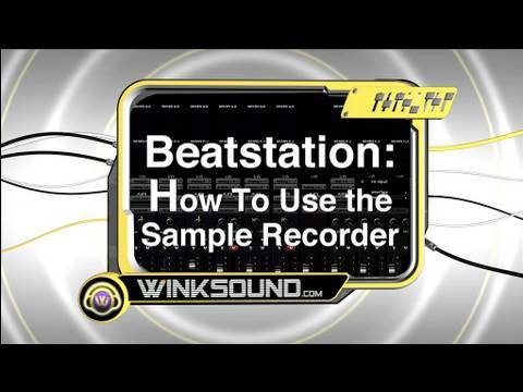 Beatstation: How To Use the Sample Recorder