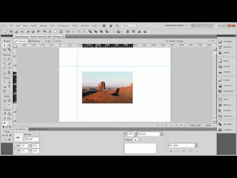Introduction to Adobe Fireworks CS5 - Part 7 - Using Guides, Rulers and Grids
