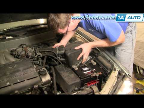 How To Install Replace Engine Air Filter Toyota Camry Lexus ES300 91-96 1AAuto.com