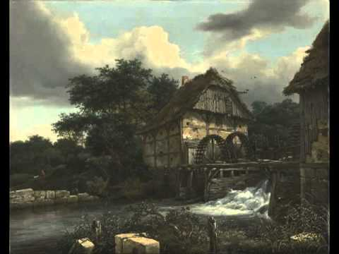 Two Watermills and an Open Sluice, Jacob van Ruisdael