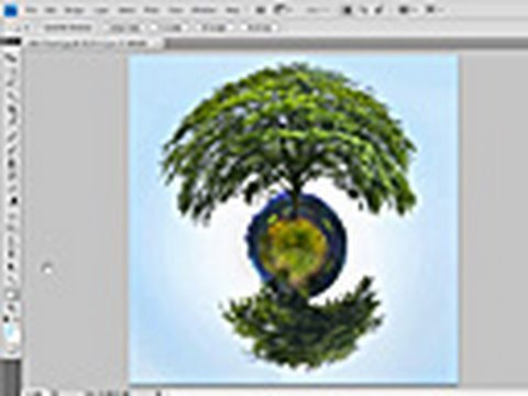 Little Planet effect in Photoshop - Week 44