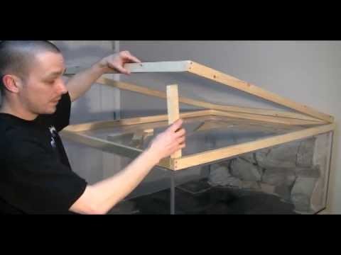 HOW TO: Build an aquarium Stand/Canopy PART2