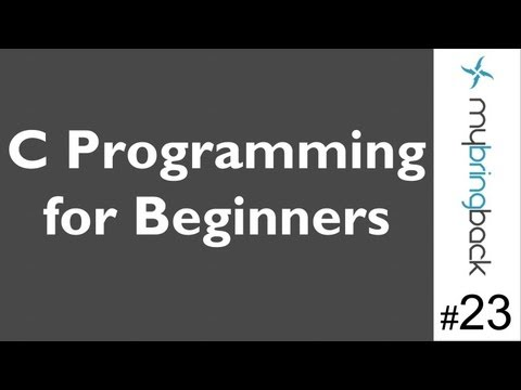 Learn C Programming Tutorial 1.23 Intro to Arrays