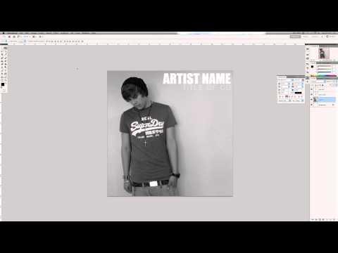 Photoshop CS5 Tutorial: How to Design a Professional Album Cover