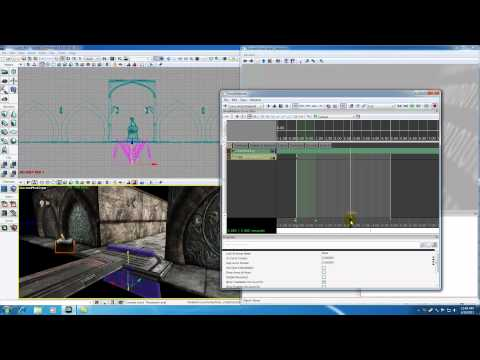Unreal Development Kit UDK Tutorial - 58 - Finishing the Door Animation