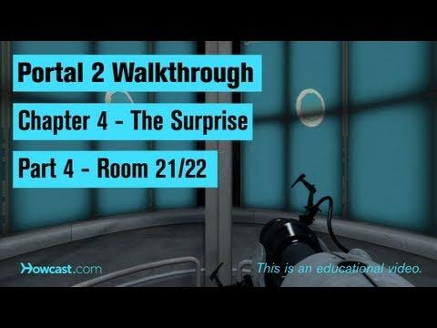 Portal 2 Walkthrough / Chapter 4 - Part 4: Room 21/22