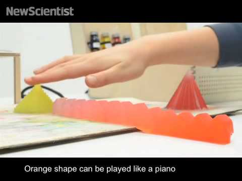 Technicolour jelly lets you cook up an edible piano