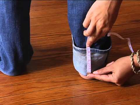 How to Hem a Pair of Jeans