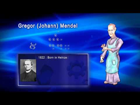 Top 100 Greatest Scientist in History For Kids(Preschool) - GREGOR MENDEL