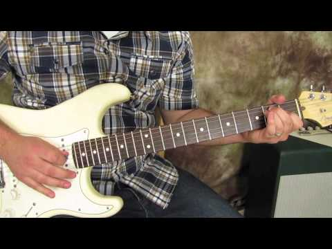 country rhythm lesson - beginner, easy guitar lesson