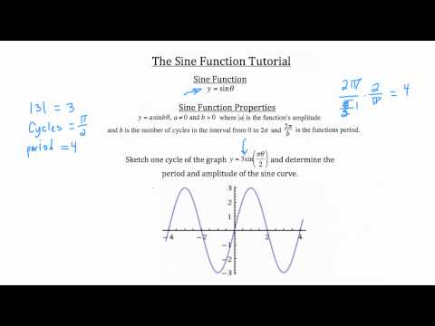 Trigonometry- The Sine Function PT 2