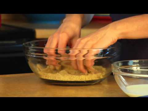 How to Bread and Fry a Chicken Cutlet
