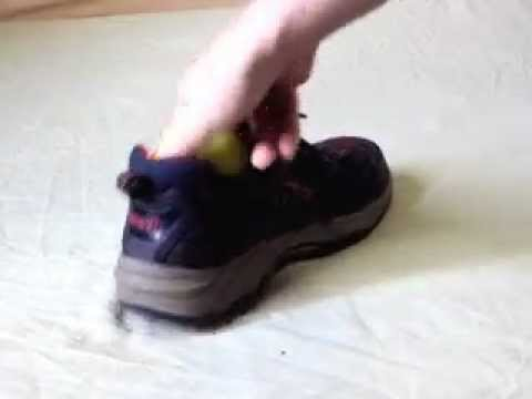How to take apple out of shoe - How To Do Anything TV video