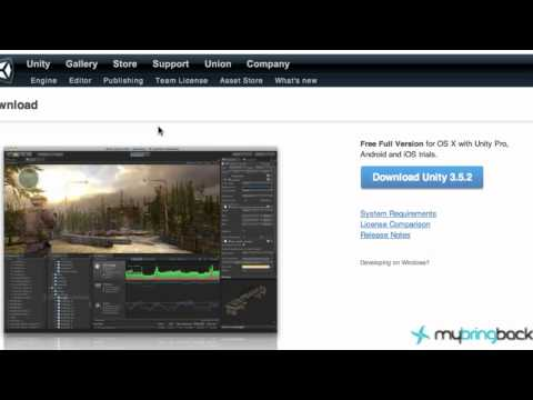 Unity 3d Tutorial 1.1 - iOS, Android, Web, XBox, PSIII, Wii Introduction