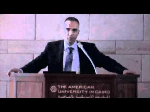 Hani Sewilam Delivers First Provost's Lecture on Sustainability in Egypt- Part 1