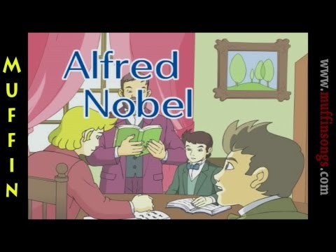 Muffin Stories - Alfred Nobel | Children's Tales, Stories and Fables