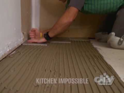 Tile Plank Flooring-DIY