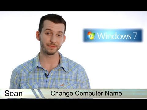 Learn Windows 7 - Change Your Computer Name