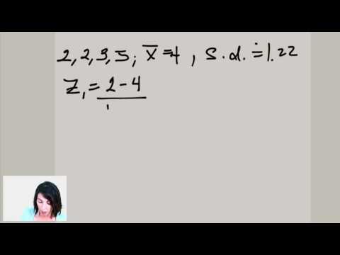 Statistics: Z-Scores (ex.1)